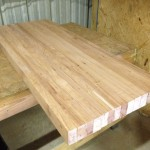 """24.5 x 60"""" Table top glued up"""