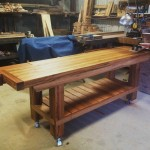 The workbench - centerpiece of the shop