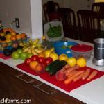 Veggies & Fruit & the NB