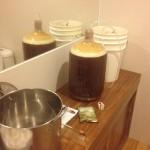 Dead Ringer IPA in fermenter