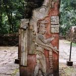 Mayan Stelae Bonampak