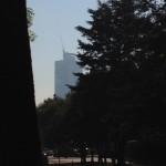 New skyscraper from Gandhi Park 2-24-15