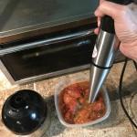 Blending Tomato Sauce
